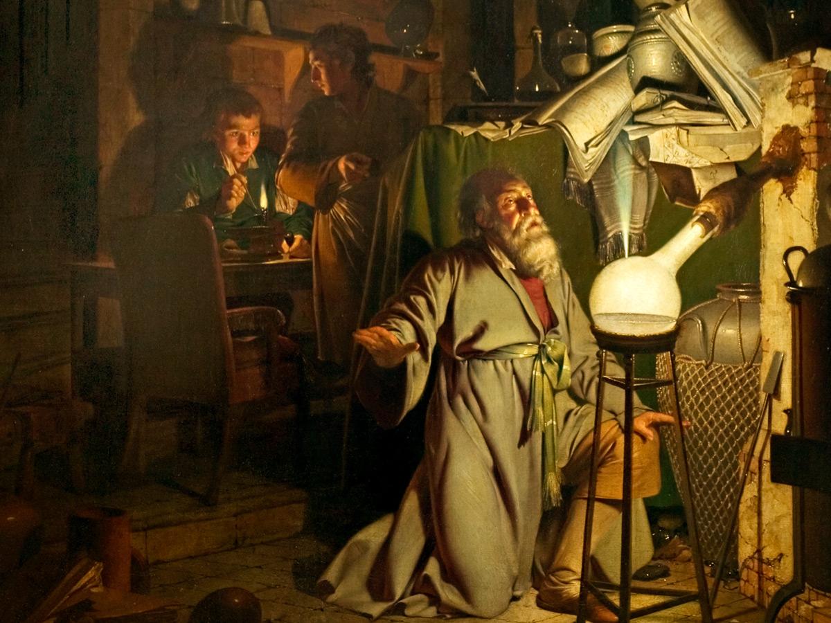 Citation Nietzsche Art : Hallie ford museum of art exhibits the alchemist
