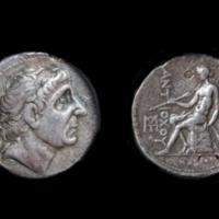 Antiochus II, Silver Tetradrachm.