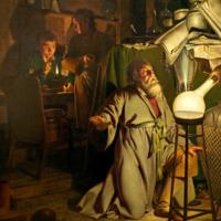 The Alchemist Discovering Phosphorus, Joseph Wright of Derby