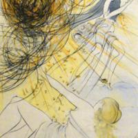 Mercurius (Hommage à Mercure), Dalí